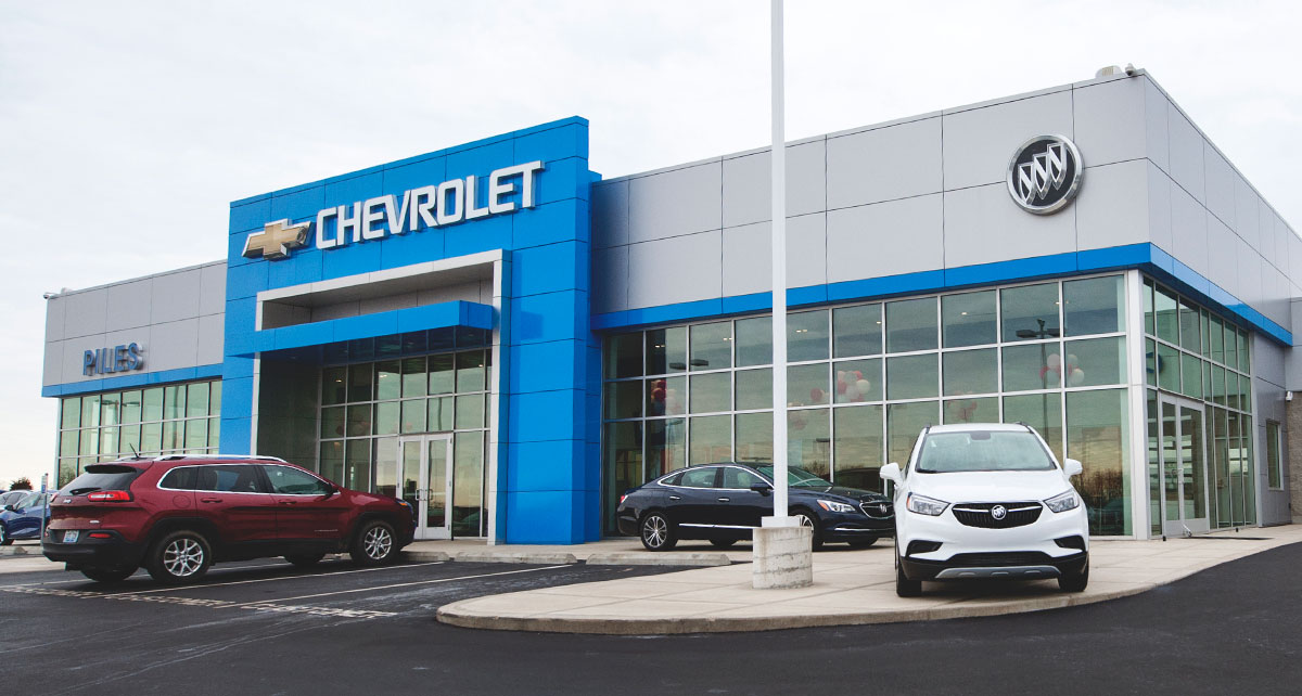 Outside Piles Chevrolet