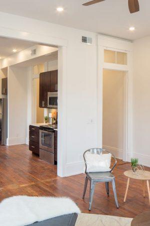 Findlay Market Development - Apartment living room