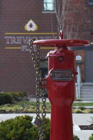 Trevarren Flats Fire Safety water source