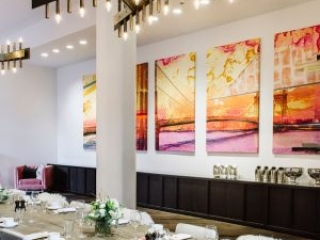 Dining area at Hotel Covington