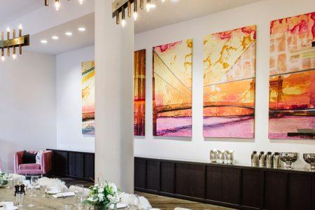 Dining area at Hotel Covington