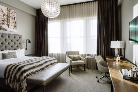 View of guest room at Hotel Covington