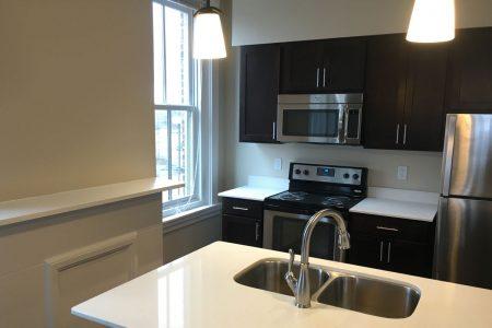 Trevarren Flats apartment kitchen renovation